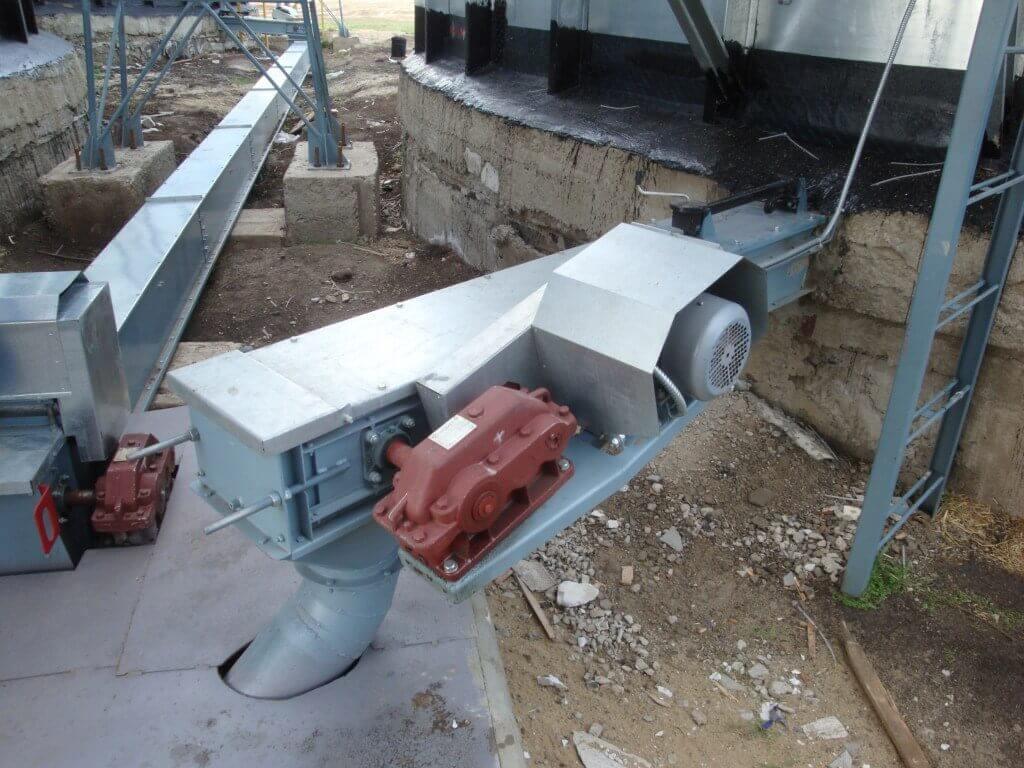 Скребковый конвейер Киев фото