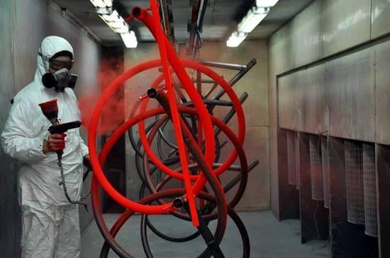 Порошковая покраска изделий из металла в Украине